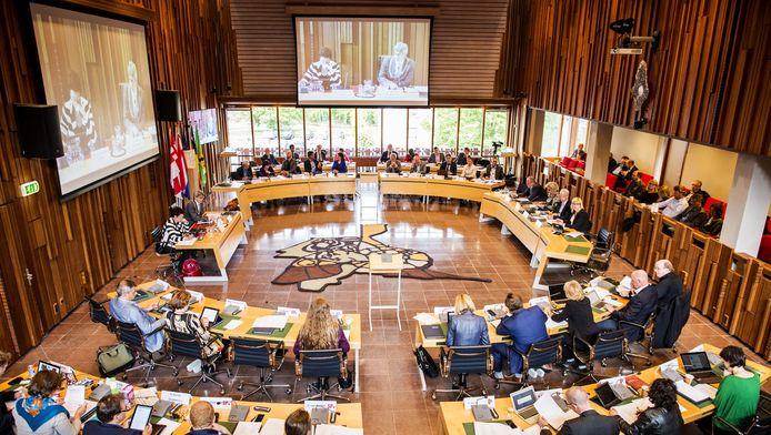 Overzicht van de gemeenteraad van Amersfoort.