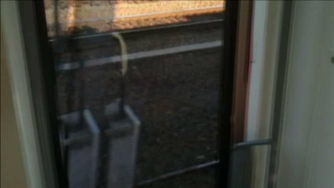 Opnieuw trein met open deur vertrokken
