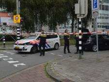 Politiewagen botst na mislukte keermanoeuvre