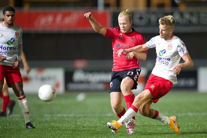 Eersteklasser VV Sliedrecht zou het na de knappe zege op Noordwijk in in de eerste ronde van de KNVB Beker gaan opnemen tegen IJsselmeervogels uit de Tweede Divisie.