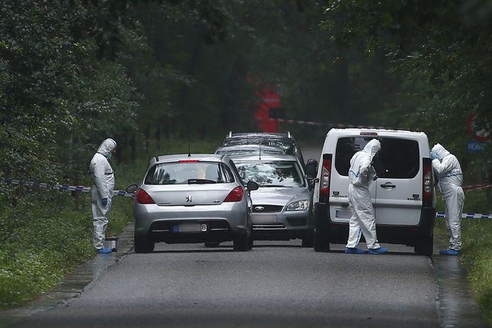 Het gerecht onderzoekt de plek waar Silvio Aquino, lid van een Limburgse drugsfamilie, in 2015 werd doodgeschoten.
