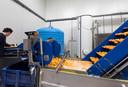 Productieproces van de schillen in de huidige fabriek in Son en Breugel.
