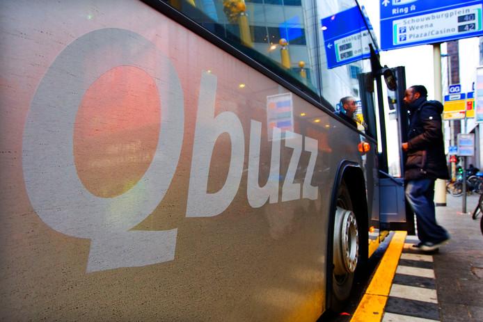 Een bus van Qbuzz.