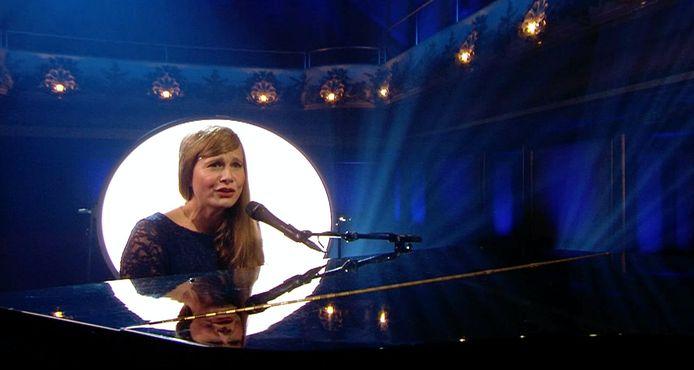 Nathalie Meskens kruipt in de huid van Astrid Stockman in 'RIP 2020'.