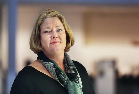 Karen Gerbrands, fractieleider en lijsttrekker van de PVV.