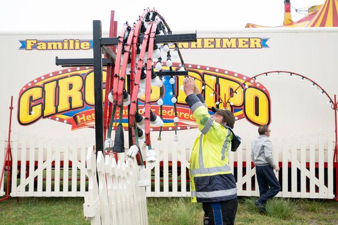 BONHEIDEN Circus Pipo maakt zich klaar om op 7 juli te heropenen