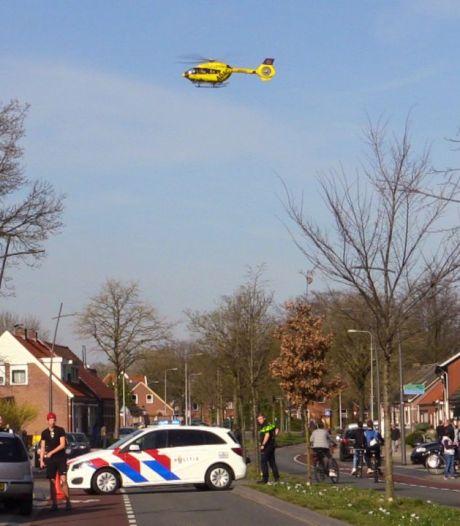 Ernstig ongeval met fietsster in Losser: slachtoffer met spoed naar ziekenhuis