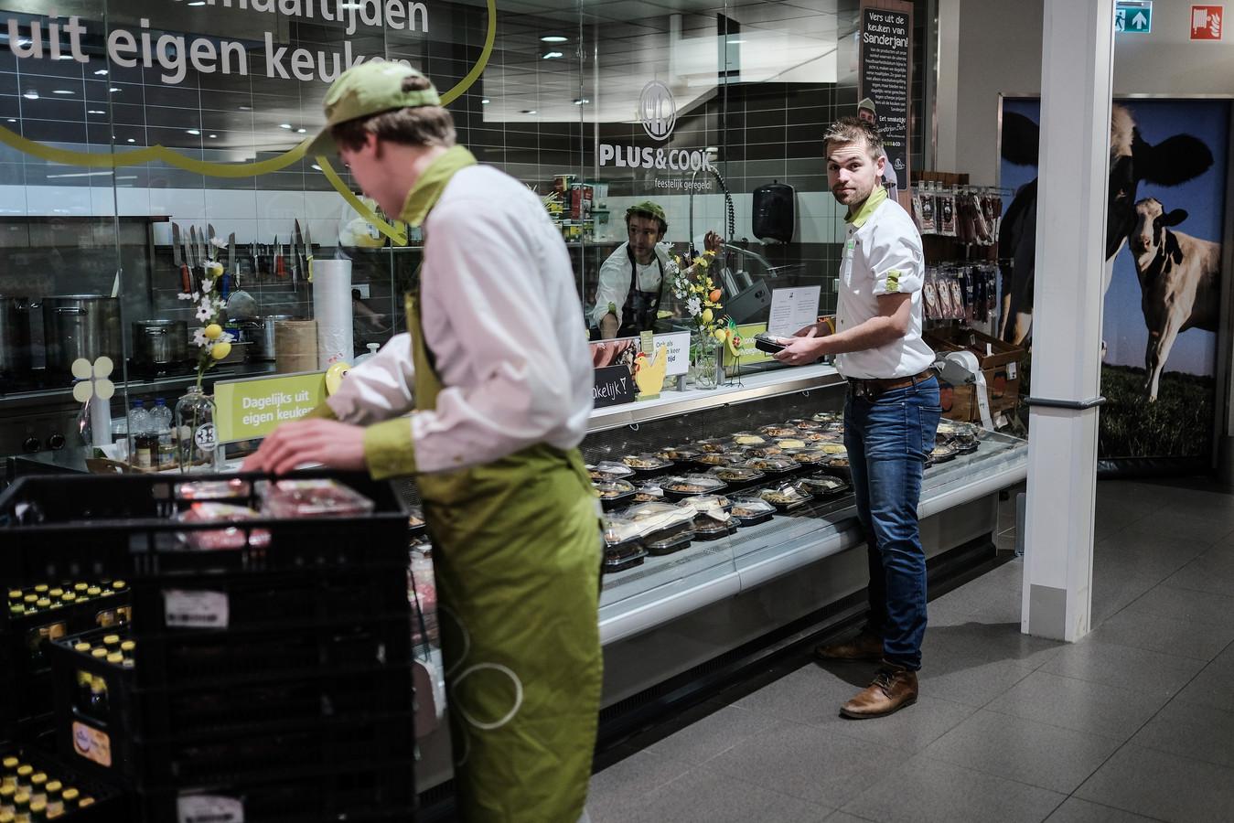 Supermarkt Plus in Winterswijk.