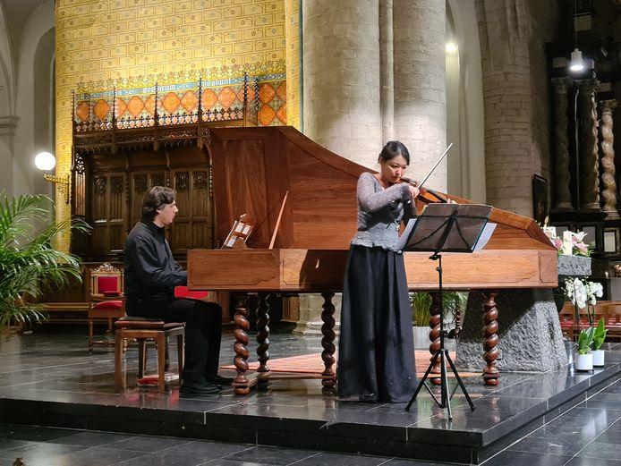 Het openingsconcert vond plaats in de Sint-Germanuskerk in Tienen.