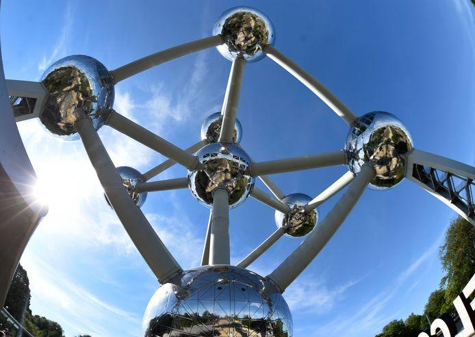 L'Atomium à Bruxelles.