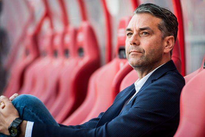 Marino Pusic in zijn tijd als coach van FC Twente.