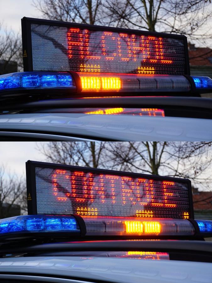 De politiezone Schoten hield ook een alcoholcontrole.