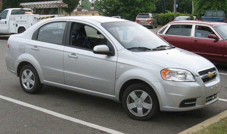 Chevrolet Aveo. Beeld