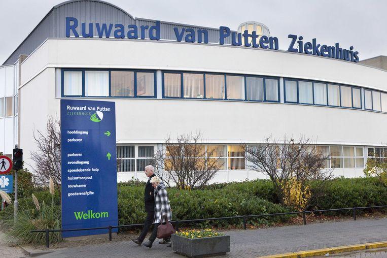 Het in opspraak geraakte Ruwaard van Putten-ziekenhuis in Spijkenisse. Beeld ANP