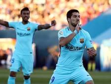 Barça beleeft eenvoudige middag in Madrid