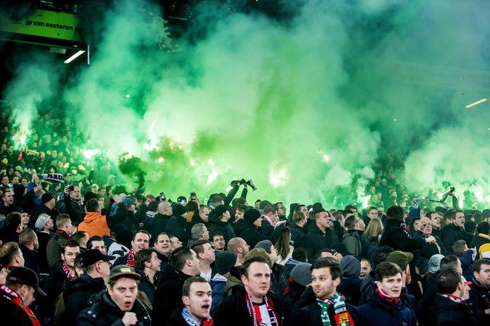 Feyenoord-fans.