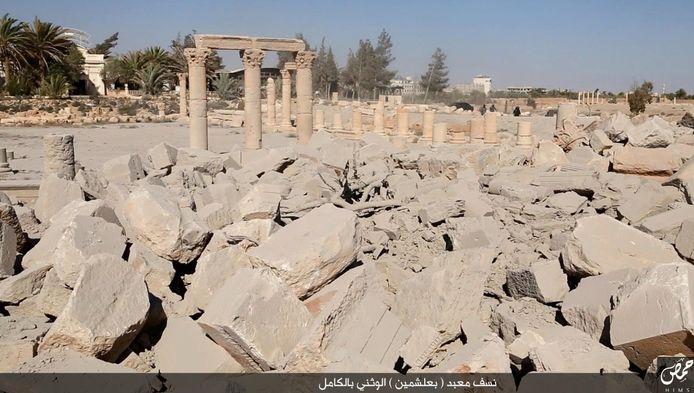 Ruïne in Palmyra.
