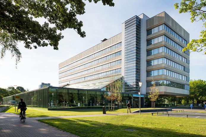 Het winnende gebouw van de Tandheelkunde Radboud UMC aan de Philips van Leydenlaan in Nijmegen