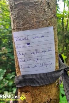 Politie vindt wietplantage midden in het bos
