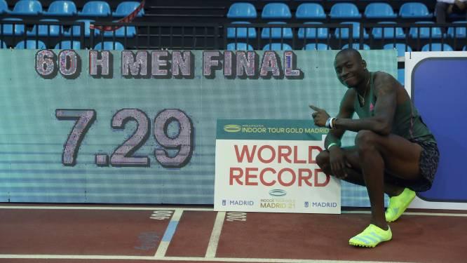 Amerikaan Holloway breekt 27 jaar oud wereldrecord op 60m horden