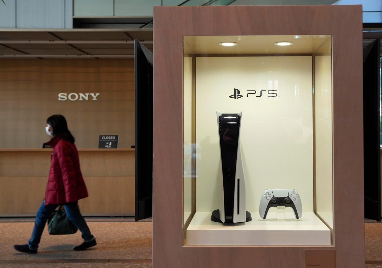 De PlayStation 5 is nog steeds moeilijk te krijgen. Beeld EPA