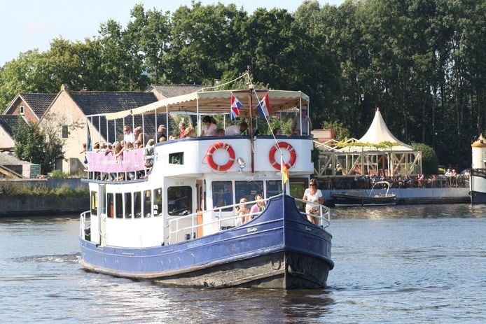 De Fietsboot Eemlijn vaart weer sinds zaterdag vanaf Amersfoort.