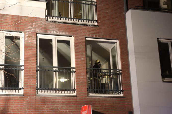 Er was niemand thuis, de brand werd opgemerkt door een buurtbewoner.