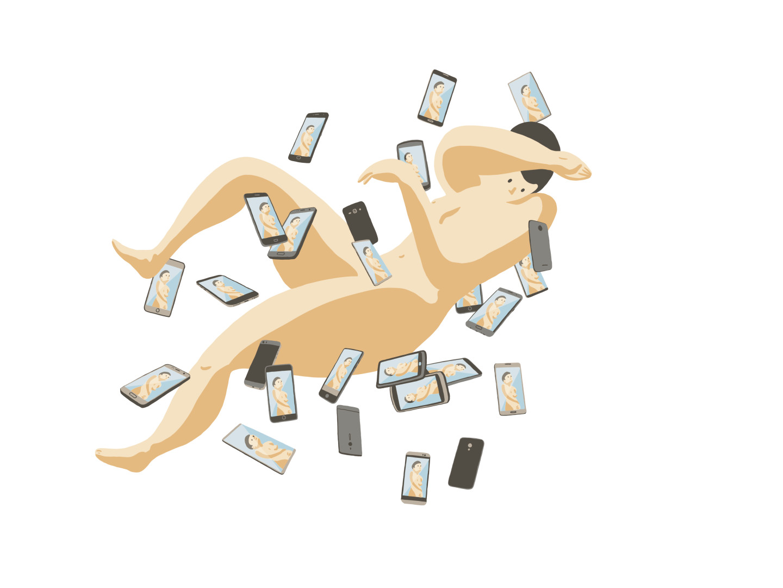 achtergrondafbeelding Sexting