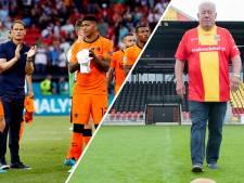 Oud-spelers GA Eagles werpen blik op EK voetbal: 'Oranje ondermaats, Frank de Boer kan beter eer aan zichzelf houden'