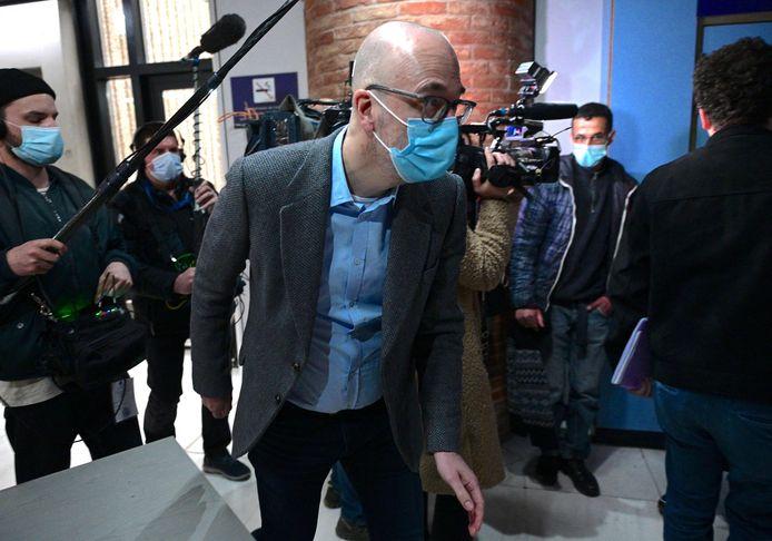 De Belgische ex-topman Stefan Vanoverbeke moest in maart verschijnen als getuige.