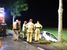 Automobilist gewond bij eenzijdig ongeval in Lienden