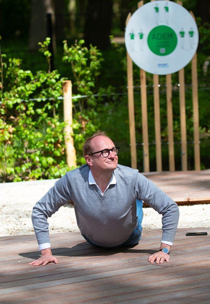 Vlaams minister van Sport Ben Weyts kwam het allereerste Zensportplatform mee openen.