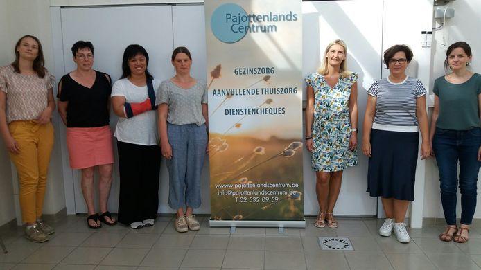 Het team van het Pajottenlands Centrum in Lennik.