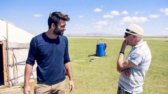 80-jarigen in Mongolië