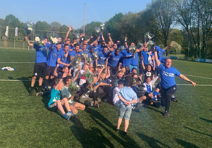 Het kampioensteam van Be Quick Zutphen