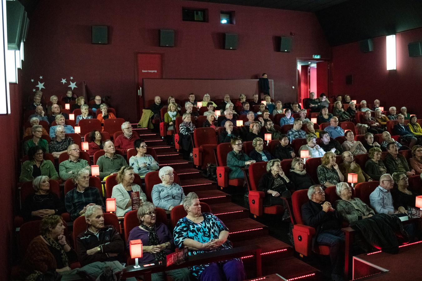 Drukte in de bioscoop in Twente, zoals hier in Almelo.