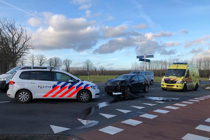 Botsing met drie auto's in Sint-Oedenrode