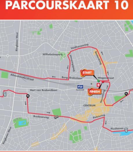 Geen Gasthuisring voor Tilburg Ten Miles, routes noodgedwongen aangepast