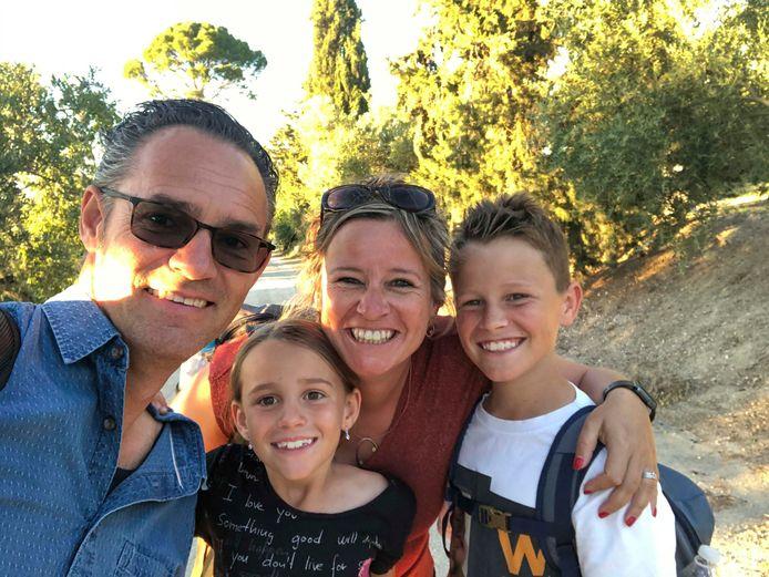Patricia en haar gezin.