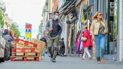 Ook Sint-Joost-ten-Node verplicht mondmaskers in winkelstraten