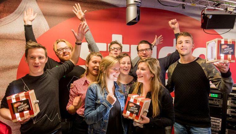 Dit zijn de winnaars: I Will, I Swear, Zinger en St. Grandson. Beeld VRT/Studio Brussel