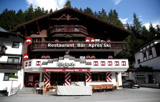 De Kitzloch après-ski bar was dit voorjaar de besmettingshaard in Ischgl