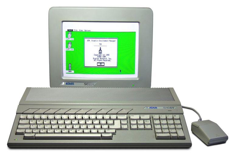 Atari ST Beeld Atari