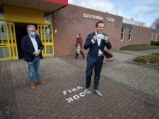 GGD gaat vaccineren in voormalige teststraat Dronten en in sporthal Zeewolde