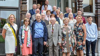 65-jarig jubileum voor Lucien en Mariette