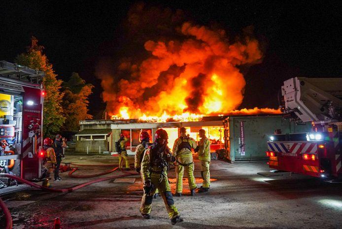 Brand in horecapand De Zwarte Bergen Luyksgestel.