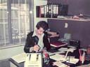 Cees van de Sanden op kantoor