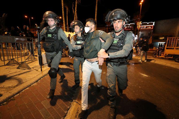 De studie toont volgens Human Rights Watch aan dat de Israëlische autoriteiten misdaden tegen de menselijkheid begaan. Beeld REUTERS