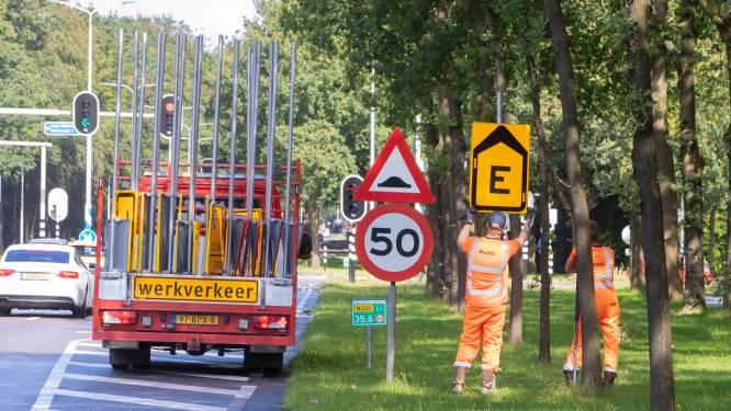 Verkeershinder in Nijkerk; fietsverkeer wordt omgeleid