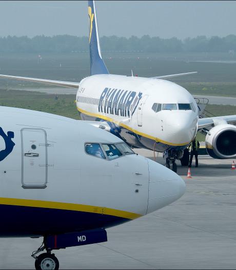 Ryanair trekt toestellen terug, minder vluchten vanaf Weeze